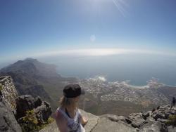 In Kapstadt auf dem Tafelberg