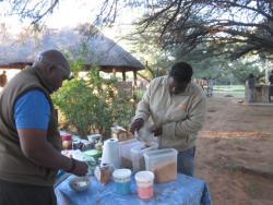 Guides beim Kochen