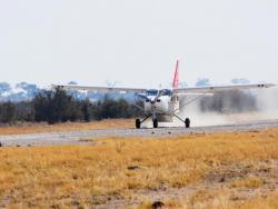 Landepiste Botswana