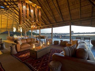 Camp Hwange - Lounge Area