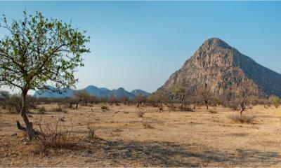 Panorama des Unesco Welterbes Tsodilo Hills in Botswana
