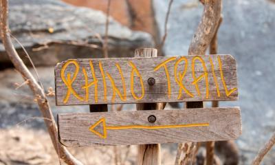 Rhino Trail bei den Tsodilo Hills in Botswana